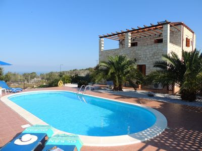 Chrisi Villa and Pool Terrace
