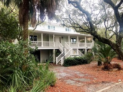 Photo for Short stroll to the Beach, our Lowcountry home sits on a road less traveled