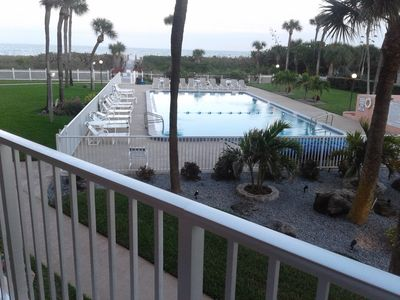 Photo for OCEAN FRONT WALKING DISTANCE TO PIER  NEWLY RENOVATED LARGE HEATED POOL