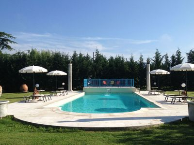 Photo for Villa with private pool near Arezzo. Ideal for holiday without car.