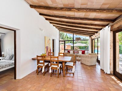 Photo for Beautiful and newly renovated finca with pool, tennis court and outdoor kitchen near Artà