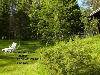 Photo for Country Log Cabin for 4 people in the Olympic region of Seefeld