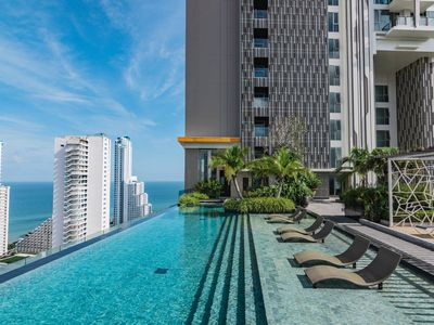 Photo for ⭐Riviera⭐Sea View 1BR⭐Infinity Pool @5min to Beach