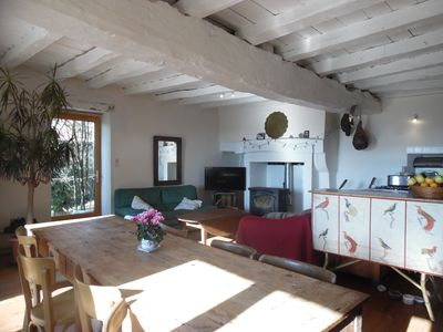Photo for Charming typical house with pool and garden in the heart of Green Perigord
