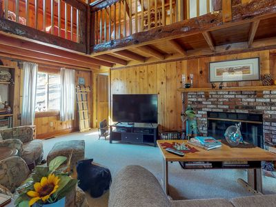 Photo for NEW LISTING! Dog-friendly cabin with great lake and Big Bear access!