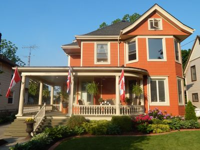 Street View of this Beautiful Queen Anne Style House
