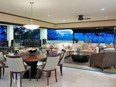 Coral Cove Penthouse-Luxury Vacation Villa in Barbados-Seating Area