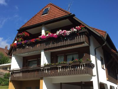 Photo for Lenzkirch - cozy vacation apartments - balcony - centrally located in a quiet side street