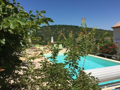 Photo for GiVans, gites of 60m ², heated swimming pool, panoramic view
