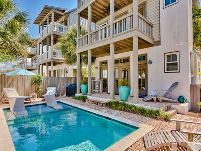 Photo for Private Pool! Executive Access! Walking Distance to Rosemary!