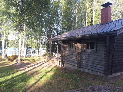 Photo for Traditional Finnish log cottage