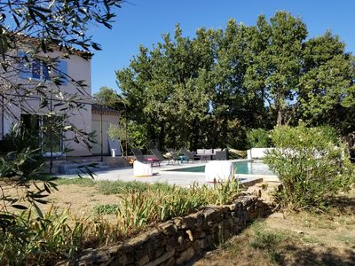 Photo for Beautiful villa with pool 10 minutes from Uzès for 8 people