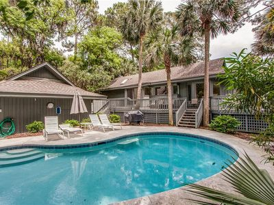Photo for 16 Sandhill Crane | On the Beach Path | Private Pool | Dog Friendly | Updated Kitchen | Sea Pines