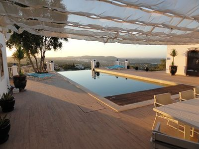 Photo for 8 persons villa with swimming pool and breathtaking views