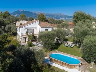 Photo for Newly renovated villa close to Valbonne & Nice with private pool.