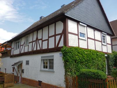 Photo for Small apartment in Hesse with terrace and garden