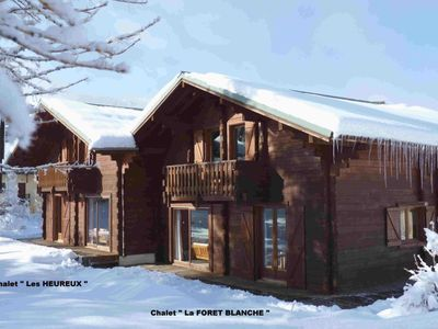 Photo for 'The White Forest' Real chalet wooden chalet
