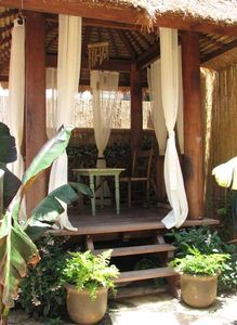 Tahitian Gazebo in Patio