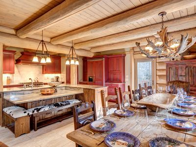 Photo for Stunning Mountain Residence offering Privacy, Views & Outdoor Hot Tub!