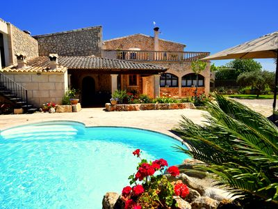 Photo for Countryhomes between Petra and Manacor with pool + child-friendly garden