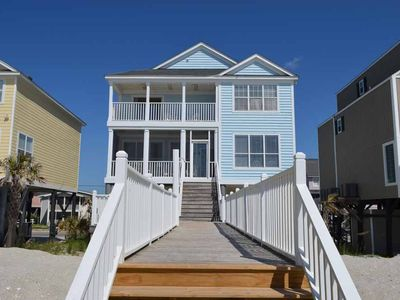Photo for Southern Comfort - Oceanfront in Garden City Beach