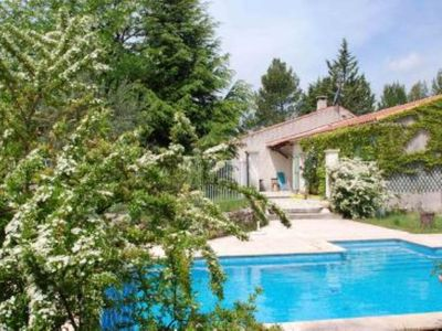 Photo for Provencal villa with swimming pool on 6000 m2 fenced