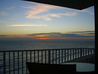 Enjoy the Sunrise on your Private Balcony
