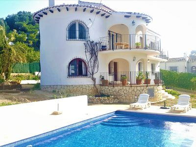 Photo for €1,150 per Month Long Term Villa , Pool & Guest House for 7 by Sea & Amenities