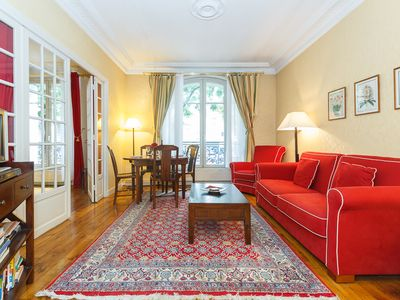 Photo for Clair de Lune-Beautiful two bedrooms apartment in the heart of Montmartre
