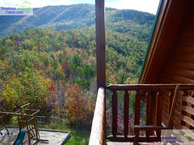 Photo for Above the Clouds cabin: Wheelchair Accessible; Views w/Yard & Playground