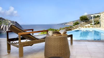 Photo for Prikonas Villa With  Infinity Pool In Assos . A Best Choice For Honeymoon