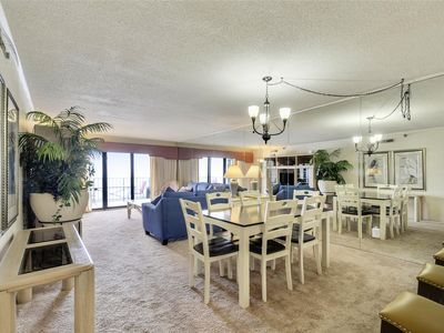 Photo for FREE DAILY ACTIVITIES! Spacious 3 bedroom, 2 bath condo located on the 9th floor.