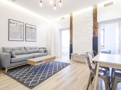 Photo for TOTALLY REFURBISHED BRIGHT & 2BD - MALASAÑA
