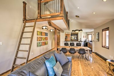 Have a grand time in Telluride when you stay at this updated condo!