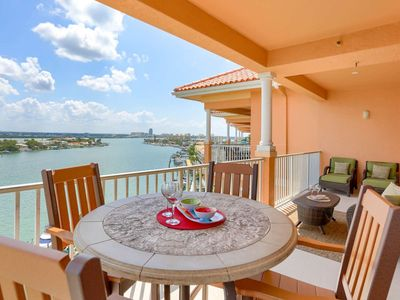 Photo for Marina View Penthouse with Boat Slip, Free Wi-Fi & Cable, DVD, W/D, Pool - 801 Harborview Grande