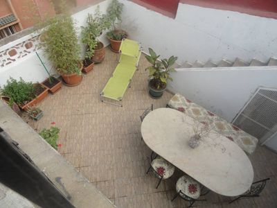 Photo for 3 sunny apartment overlooking terraces