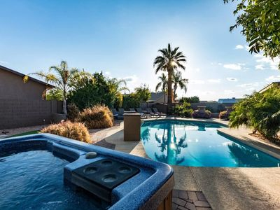 Photo for Scottsdale T Sleep 24 Villa by Events ❤️ Heated Pool-Spa-Billiards-Putting Green-Best Golf-Dine Area