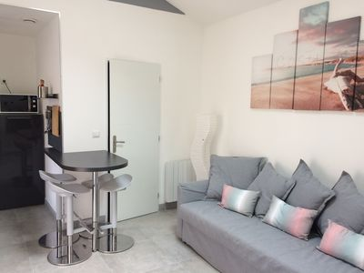 Photo for Cozy apartment near the ostreicole ports