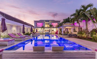 STUNNING 8 BEDROOM FULL STAFFED MODERN PROPERTY, 2 HUGE PRIVATE POOLS, CATERING