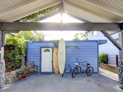 Photo for Encinitas Cottage Retreat/New Winter Rate! Walk to Swami's..