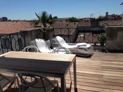 Photo for Charming duplex apartment in the city heart of La Rochelle