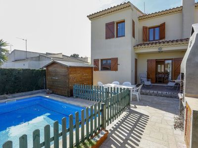 Photo for Wonderful private villa for 6 people with WIFI, private pool, TV, pets allowed and parking