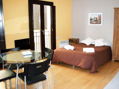 Photo for Cozy loft for 2 persons   Old Quarter Girona
