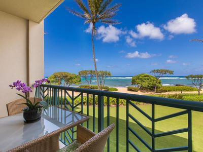 Photo for A204 BEACHFRONT Bliss - PRIME LOCATION /Resort Action Pool & Oasis Restaurant