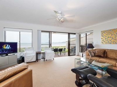 Photo for 2 'The Pelicans' 53 Soldiers Point Road - ground floor unit on the waterfront