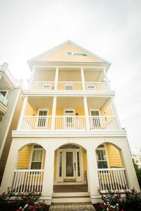 Photo for Big Yellow House Steps from Beach