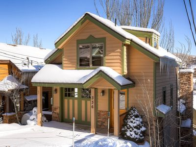 Photo for Cozy home in the historic, downtown area w/ mountain views & a private hot tub!