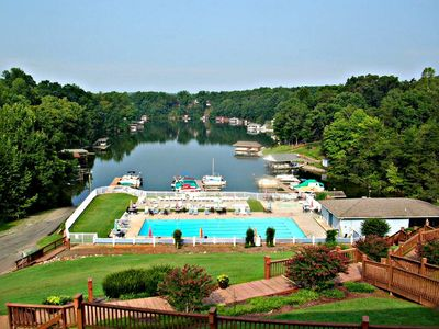 Photo for ALMOST HEAVEN , BOAT SLIP,  LAKEFRONT, GREAT SUNSET VIEWS, LAKEFRONT POOL