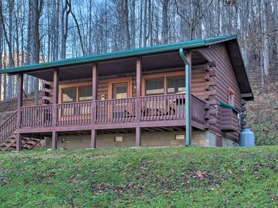 Photo for NEW! 'Turkey Creek Cove' Cabin in Clyde w/Fire Pit