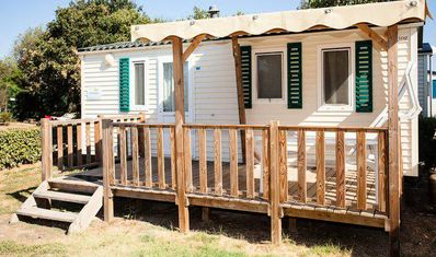 Photo for Camping Le Pansard **** - Villa 3 rooms 4/6 people